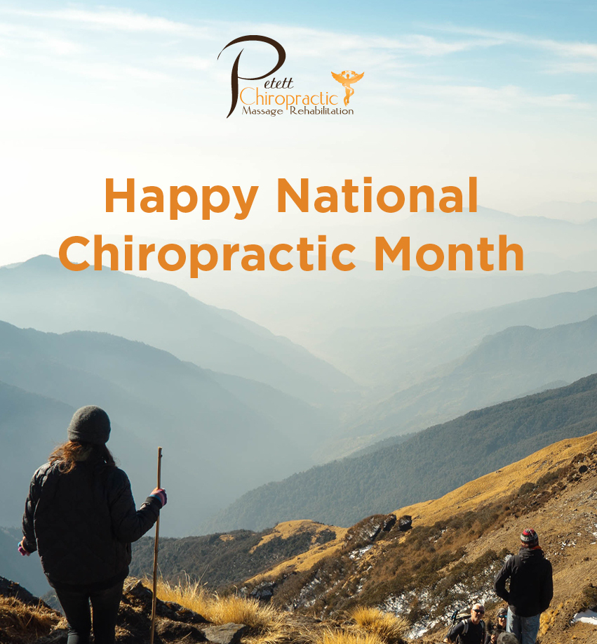 National Chiropractic Health Month graphic