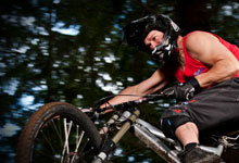 Check out Dr. Petett's Mountain Biking Videos!